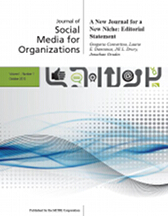 "New Online Journal: ""Social Media for Organizations"""