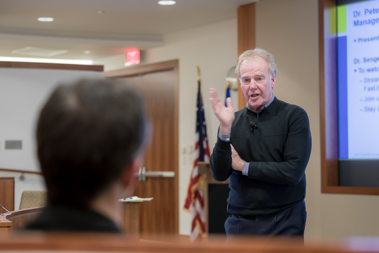 Mistakes and Transcendent Paradoxes: Dr. Peter Senge Talks on Cultivating Learning Organizations