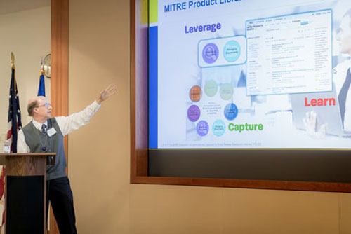 MITRE Product Libraries Help Staff Capture, Search for, and Manage Products for Sponsors