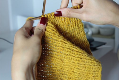 Come Together: Knitting as Craft and Metaphor for Building Virtual Social Culture